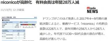newsniconicoが高齢化 有料会員は年間28万人減