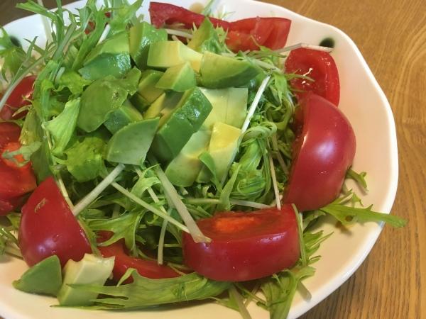 171022-水菜サラダ