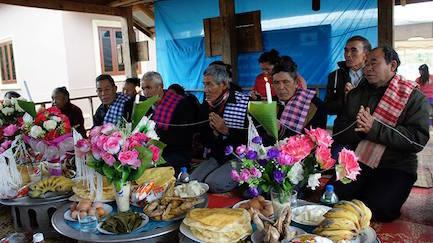 3Basi Ceremony at Yuangthong Village2