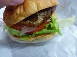sさば味噌バーガー