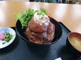 sローストビーフ丼