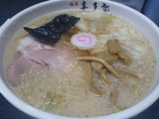 s麺屋喜多郎でワンタンメン2