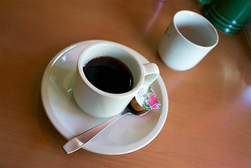 大益ドライブイン@栃木市西方町 コーヒー