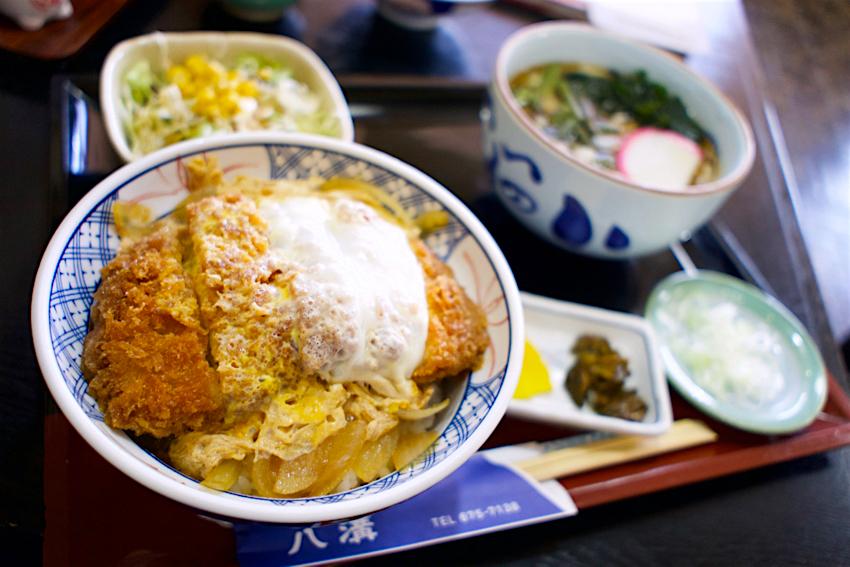 八溝@高根沢町大字石末 カツ丼+そばセット2
