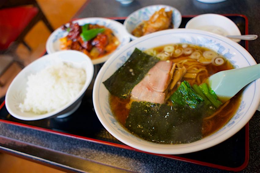 中華料理 北昌@下野市緑 酢豚ラーメンセット1
