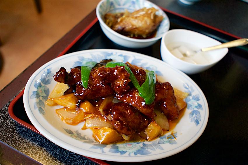 中華料理 北昌@下野市緑 酢豚ラーメンセット3
