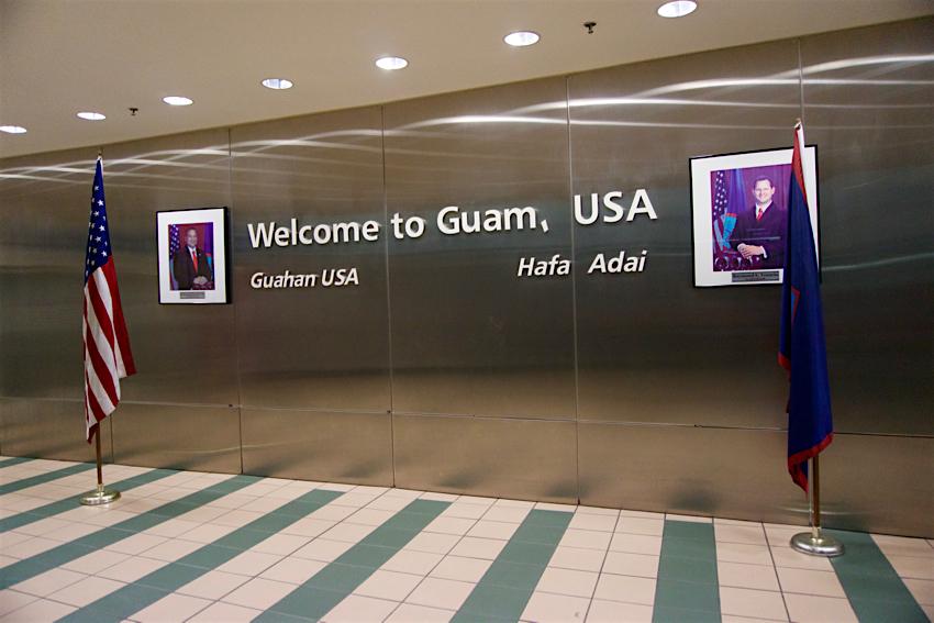 心配ないさGUAM 1日目 成田空港第一ターミナル グアム国際空港