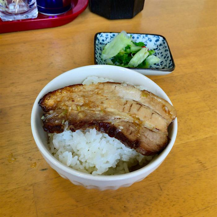 麺や しみず@宇都宮市西刑部町 2  Andy特製チャーシュー丼