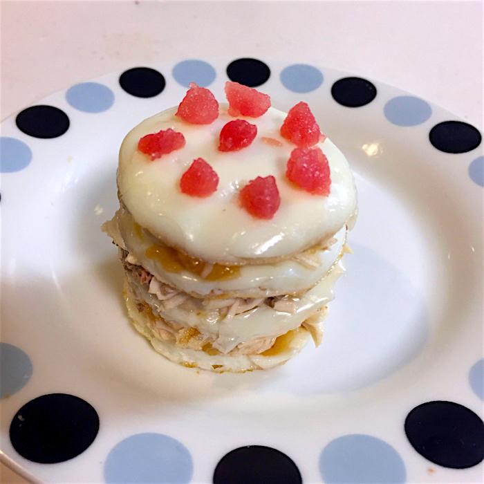 【 祝 1歳♪ 】 バースデーキャットケーキ
