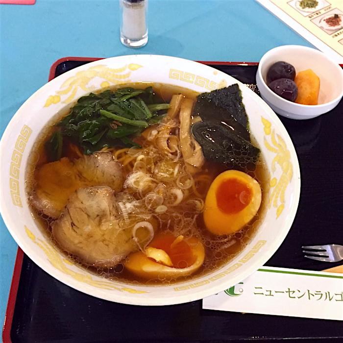 ニューセントラルグルフクラブ@宇都宮市下田原町 2 醤油ラーメン1