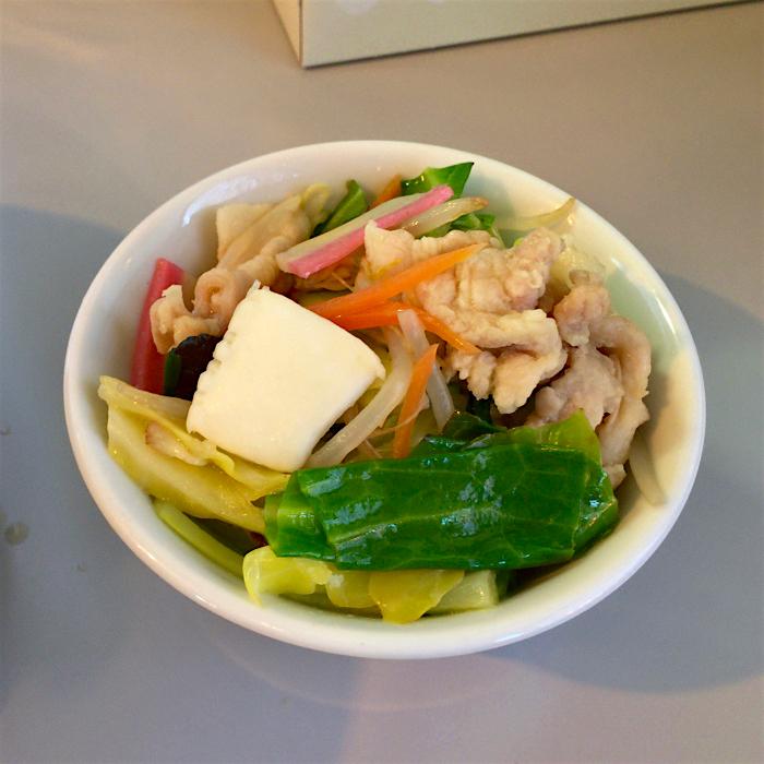 ラーメン工房 くろべぇ@市貝町赤羽 2 Andy特製肉野菜炒め丼
