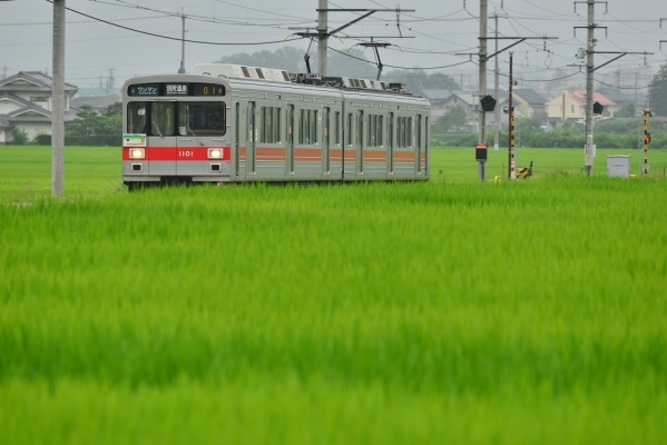 2017年7月29日 上田電鉄別所線 舞田~八木沢 1000系1001編成