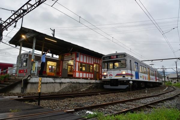 2017年7月30日 上田電鉄別所線 下之郷 1000系1001編成/1002編成