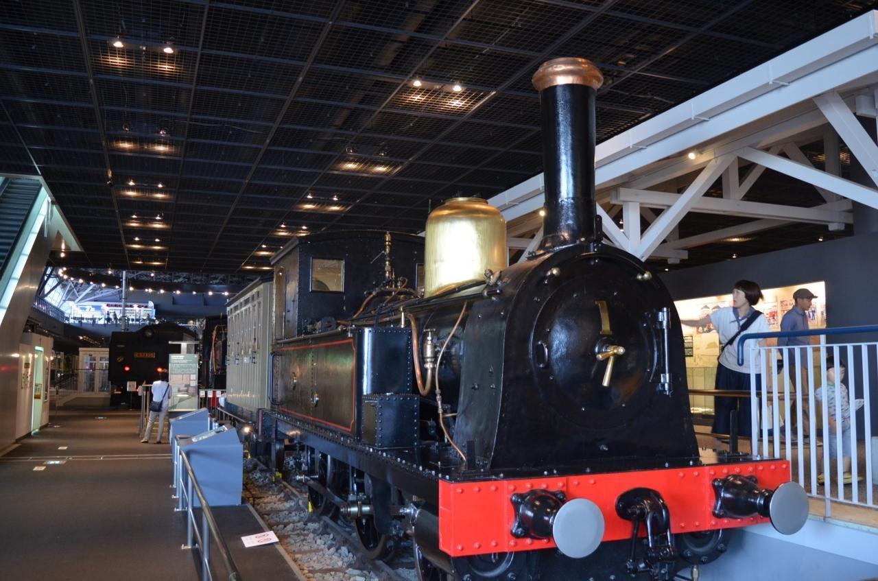 日本初150号蒸気機関車(1号機関車)
