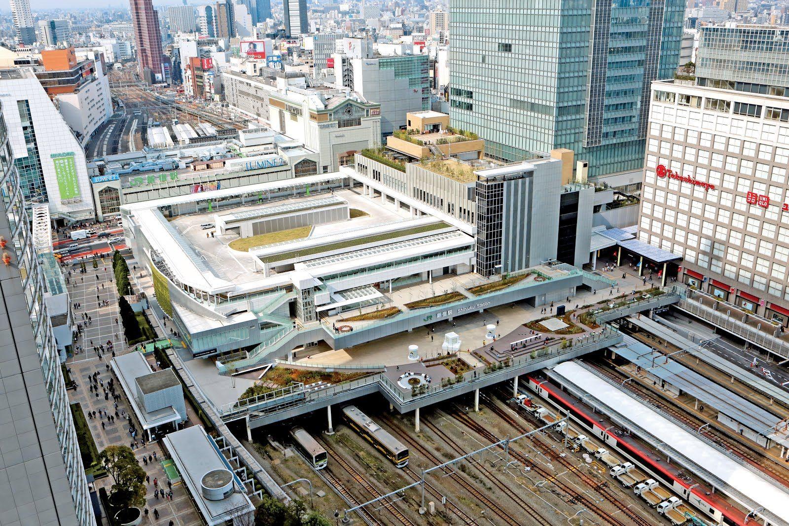 新宿駅全景