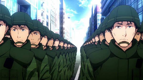 自衛隊 徴兵 GATE