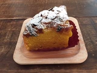 2017かぼちゃのアーモンドケーキ