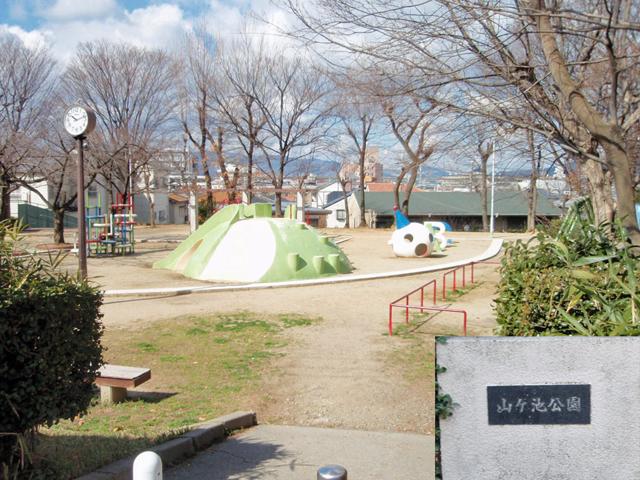 山が池公園1711