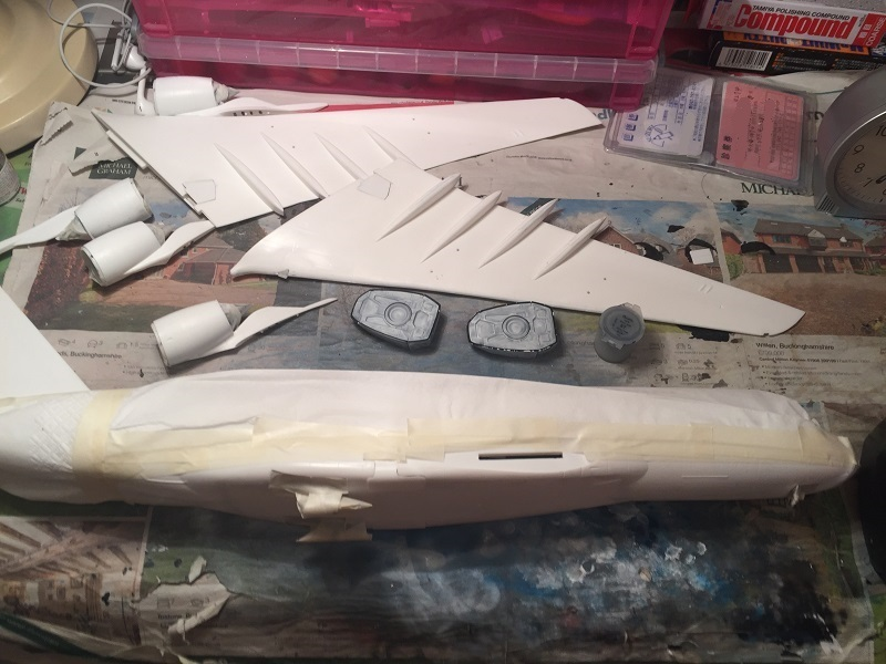 A380 マスキング
