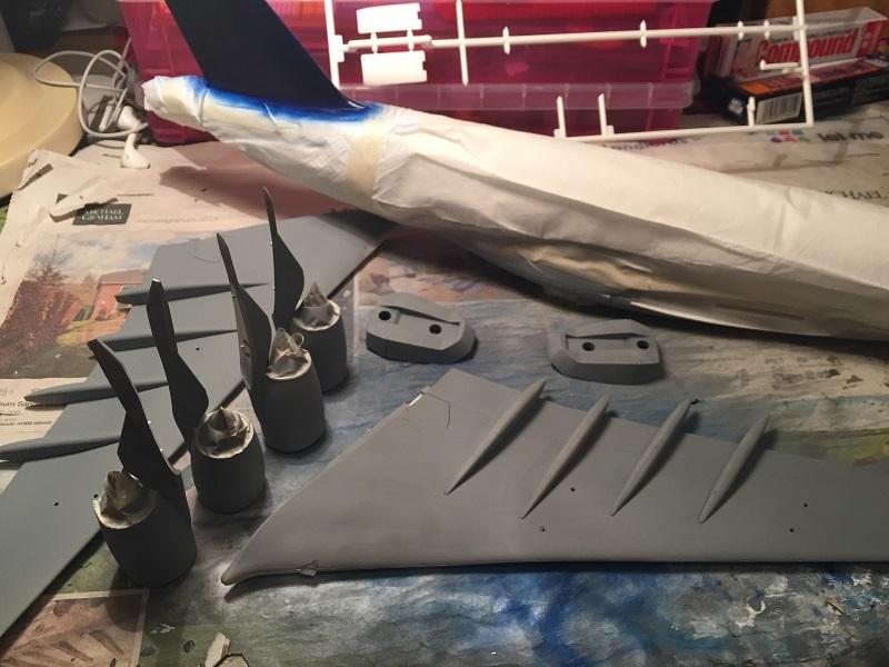 A380 全体塗装1
