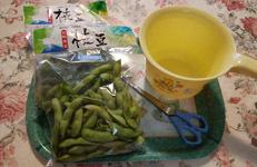 枝豆へた切り