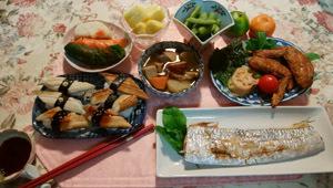 晩御飯 風邪引き間は魚が食べたい!