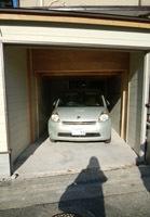 車庫は母車サイズ