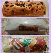 朝からパウンドケーキ
