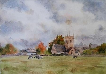 農村の教会