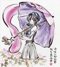 小傘 紫陽花1200px