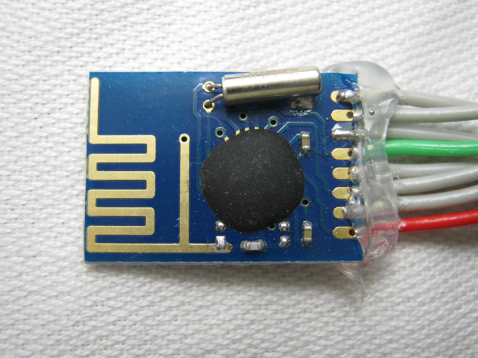 2400MGHzラジコン用ファームウェア(SE8R01)外観4