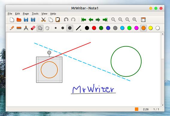 MrWriter Ubuntu 手書きノート
