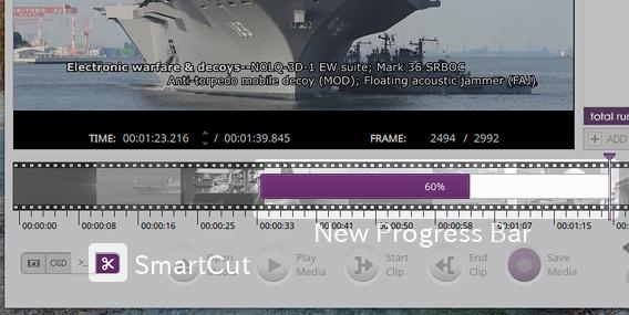 VidCutter 5.0.0 Ubuntu 動画 カット編集 SmartCut機能