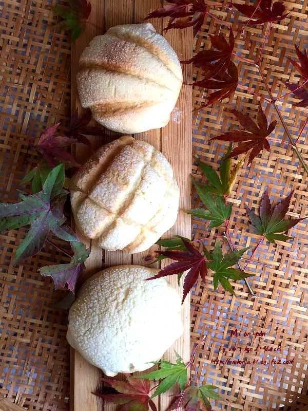 秋のメロンパン 1