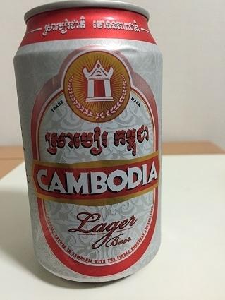 カンボジアのビール