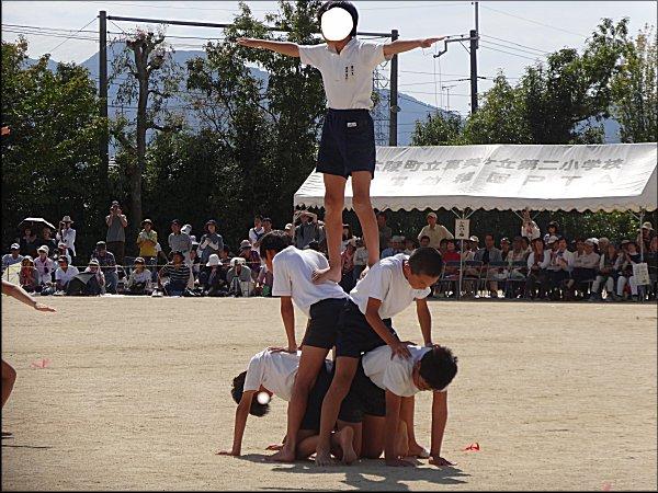 6年、組立体操1