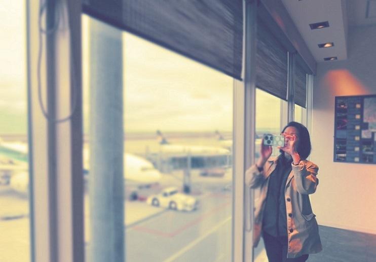 空港内探検