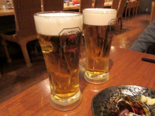 ビールおかわり!