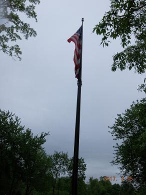 ベトナム戦争記念碑の旗