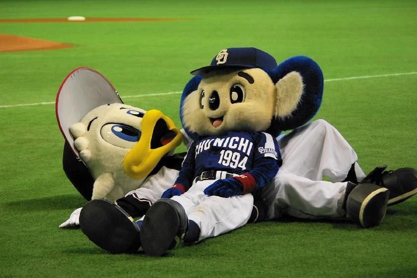 【野球】ワイがマスコットが仲良しな画像を貼るスレ