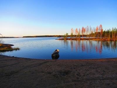 湖上のボート1