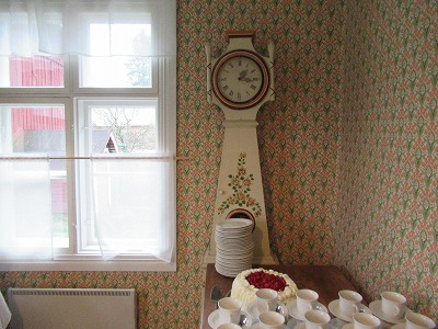 Joupin vanha tupa時計