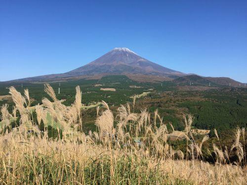 十里木からの富士山