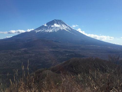 パノラマ台からみた富士山