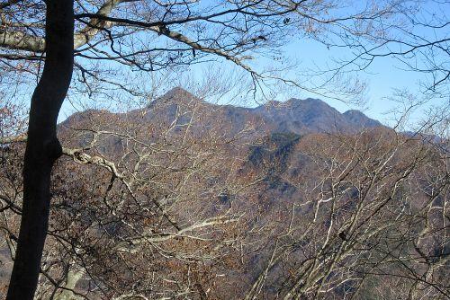 王岳と鬼ヶ岳