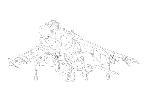 AV-8B 線画完成PNG0031-082
