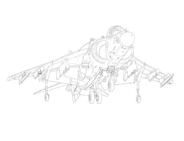 AV-8B 線画完成PNG0032-083