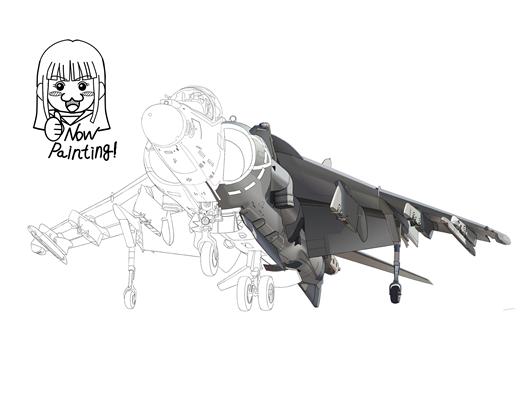 AV-8B 塗り001-01