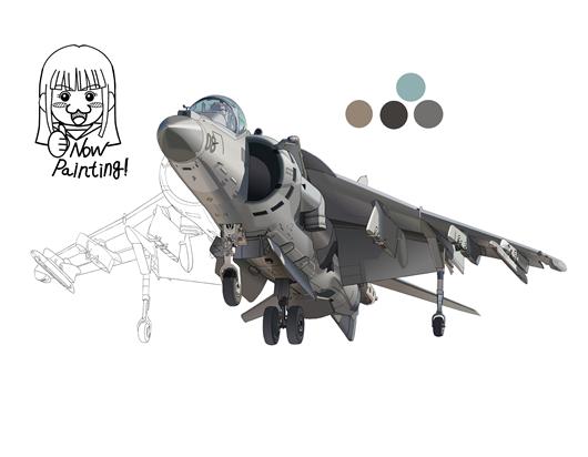 AV-8B 塗り003-03
