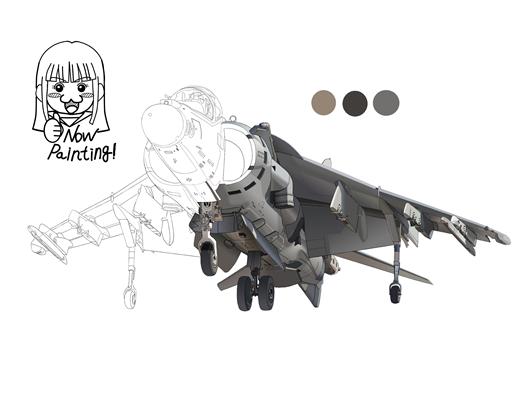 AV-8B 塗り002-02
